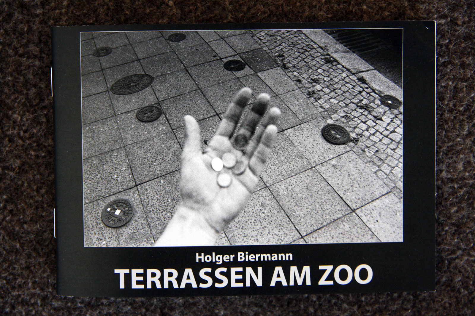 New Booklet : TERRASSEN AM ZOO by Holger Biermann