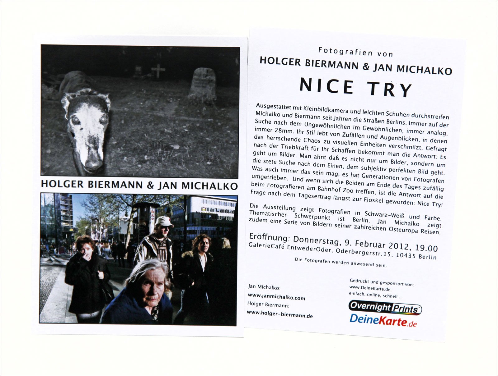 EXHIBITION / NICE TRY